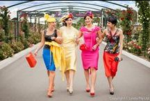 Melbourne Cup Designer Fashions On The Field / For more visit www.leiela.com.au ... Lx