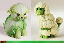 zelenina na talíři