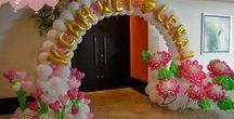 dekorace na oslavy / výzdoba
