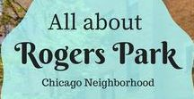 Rogers Park Neighborhood / Rogers Park is one of the 77 Chicago community areas on the far north side of Chicago, Illinois. Rogers Park is located nine miles north of the Cook County Courthouse in downtown Chicago.