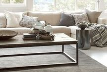<Living Rooms> / Living room decorating ideas | Living room renovations | Living room styling and products | Living room decor and design