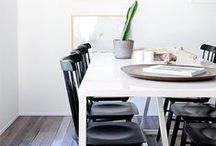 <Dining Rooms> / Dining Room decorating ideas for your renovations | Dining Room design and styling | Tabletop decor |