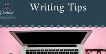 Writing Tips / Grammar and other tips for writers.