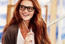 Glasses Glamour / There's nothing that can boost your confidence like a great looking pair of eyeglasses or sunglasses.