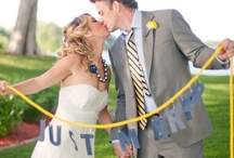 Weddings: Blue + Yellow