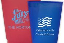 Patriotic Parties / Personalized party supplies and gifts for any Memorial Day, 4th of July, or Labor Day party