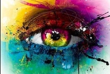 Eye Art / From paintings to illustrations, here is a collection of stunning eye artwork.