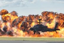 Apache attack helicopter / Designed to hunt and destroy tanks, the Apache attack helicopter has significantly improved the Army's operational capability. Find out more http://bit.ly/1VqUjWM