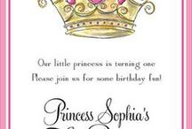 Princess Party / Personalized party supplies and gifts for your little princess.