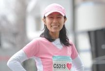evian - evian x Shibuya Omotesando Women's Run 2014 / http://www.evian.co.jp/run/ / by evian
