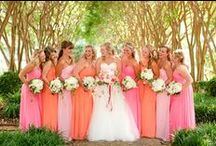 Weddings: Pink and Orange