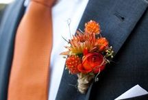 Weddings: Blue and Orange