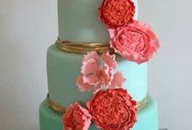 Weddings: Mint, Aqua and Pink