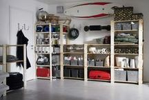 Basement & Laundry & Garage Area / by Julie {The Hyper House}
