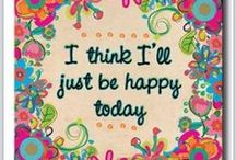 HAPPY THOUGHTS:) / The only way to happiness is to spend your life in your own way,