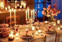 Come to Dinner / One cannot think well.love well,sleep well,if one has not dined well:Virginia Woolfe / by Mary Richard