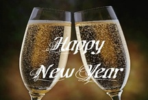 New Years CHEERS / On New Years EVE ,EVERYONE GETS A NEW CHANCE / by Mary Richard