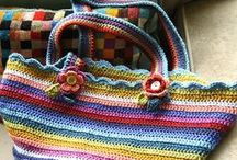 Bags:  Crocheted Purses, Wallets, Totes, Etc. / by Theresa Callahan