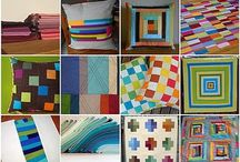 Quilting: Your Simply Solids Quilt / Inspiration, potential color palettes, fabrics, design, etc. for your quilt in the Simply Solids bee. / by Jennifer Utz