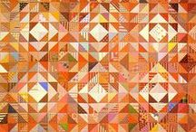Color:  Orange, Peach, Tangerine / Art, Crafts, Quilts, Clothing, Decor, & More: When orange is what makes the work sing! / by Theresa Callahan