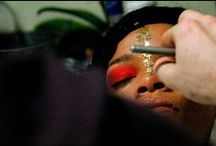 Red Eyeshadow / by Blaq Vixen Beauty