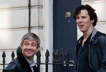 Sherlock / BBC's Sherlock, Martin Freeman and Benedict Cumberbatch