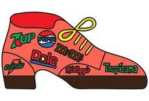 Shoe art / I love shoes!