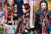 Winter Insp: Russian-Orient Express / Inspirational looks for this winter. As always, a Russian doll in the making!