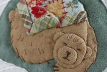 Fun:  Bears to hug, sew, quilt, craft, admire, purchase, and love... / by Theresa Callahan