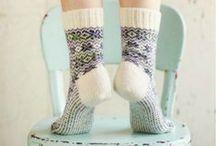 Inspired By: Cozy Socks / All things cozy socks.
