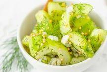 Salat Rezepte - die Lieblinge von herzelieb / Herrlich einfache und auch raffinierte Rezept für Salate. Nicht zum Grillen einfach genial, auch Salat im Glas ist immer wieder genial! Mit einem leckeren Salatdressing oft leicht zu verändern.