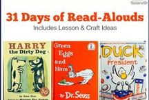 31 Days of Read-Alouds / We are featuring 31 read-aloud books with activities and lessons for an entire month to use for preschool through elementary!