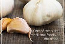 Garlic lover / Food recipes utilizing garlic / by Riitta