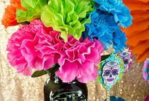 Inspired By: Day Of The Dead / Decor inspiration for the Mexican holiday Dia De los Muertos or Day of the Dead.