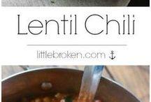 Linsen Rezepte - Lentil Recipe / Alles rund um Linsen - Linsensuppe, Gemüse, Linsen-Salat, Linsen-Eintopf, Linsencurry, Bratlinge  Lentil Recipe