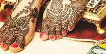 Mehendi feet designs