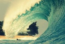 Beach Waves Summer Days