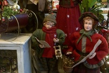 Christmas Garden pretties from the store / Pictures mixing the Holiday season and Gardening