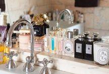 vanity & bathroom / by kumikoeda