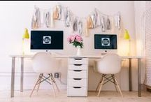 Office Luxury / See how you can create a professional environment that is stylish too. / by Rove Concepts