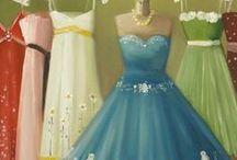 dresses/art