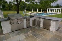 Outdoor Kitchens / Outdoor kitchen project I have designed and constructed