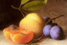 fruit and vegetable still life, too beautiful