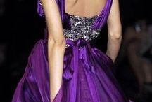 衣裳 - purple dress