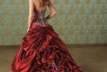 衣裳 - red dress