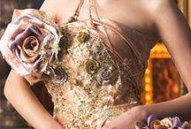 衣裳 - gold dress