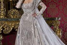 衣裳 - silver/grey dress