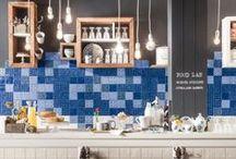 Kitchen tile ideas - Obklady a dlažby do kuchyně / #obklady #dlažby #kuchyně #tiles #walltiles #floortiles #ceramic #inspirace #bydlení #inspiration