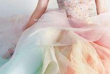 watercolor wedding / ウォーターカラーとは絵の具で描いたような透明感のある色合い。優しい雰囲気にぴったりのカラーウエディング。