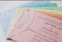 color wedding pastel